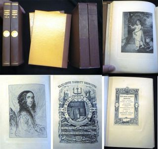 Elizabeth Barrett Browning Hitherto Unpublished poems and Stories with an Inedited Autobiography....