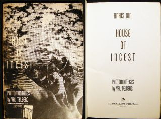 The House of Incest. Anais Nin