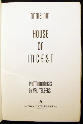 The House of Incest