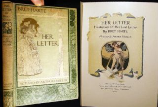 His Answer & Her Last Letter. Bret Harte
