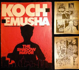 Koch - Emusha The Shadow Mayor. Josh Brown, Howard Saunders