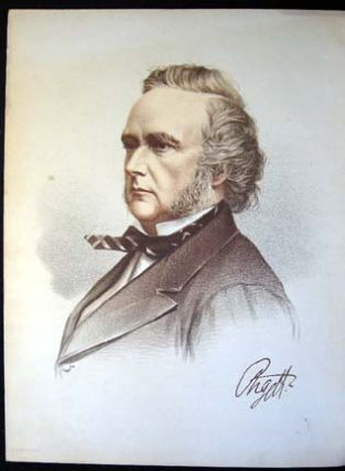 1890 Colour Lithograph Portrait of The Duke of Argyll. The Duke of Argyll