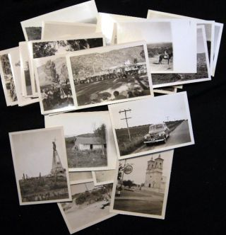 1946 Group of Individually Identified Snapshot Photographs of Argentina, Including Cordoba, Salta...