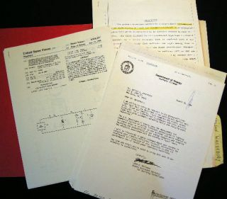 1967-1990 Patents, Marketing & Investment Correspondence of Inventions by Nelson J. Waterbury...