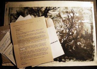 "Circa 1960 ""Full Moon"" Artists' Proof Signed By Mark Freeman (with) Artist's Signed Letter..."