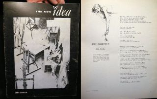 The New Idea Winter, 1962-1963 Quarterly Journal of Student Thought and Writing at the University...