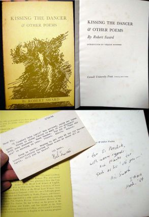 Kissing the Dancer & Other Poems (with) a Typed Postcard Signed By the Author. Robert Sward