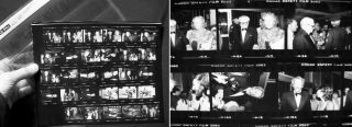 1981 Group of 35mm Photographic Negatives and Contact Prints of the American Film Institute...