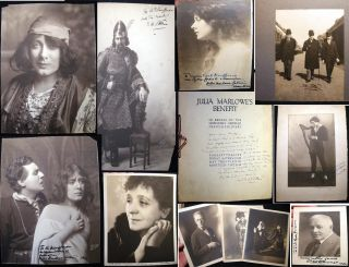 Early 20th Century Collection of Signed & Inscribed Photographs and an Ephemeral Program...