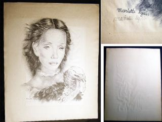 """Juana"" Lithograph Signed By Mariette Lydis. Art - 20th Century - Mariette Lydis The Society of..."