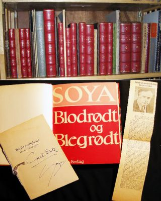 1923 - 1957 Collection of over 50 individual Inscribed & Signed Publications of Danish Humorist...
