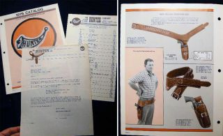 1976 Catalog The Hunter Company Leather Products Engineered for Action. Americana - 20th Century...