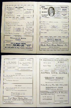 "1912 Alpha Iota Alpha Presents ""Breezy Point"" a Comedy in Three Acts under the Direction of Mrs...."