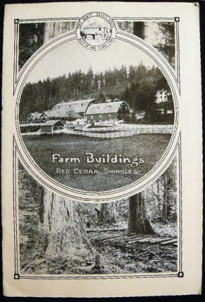 Shingle Branch West Coast Lumbermen's Association Collection of Advertising Materials Including Letter, Newspaper Electrotypes, Illustrated Pamphlets