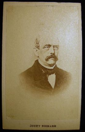 Carte-de-Visite Photograph of Otto Eduard Leopold Count Von Bismarck. Photography - 19th Century...