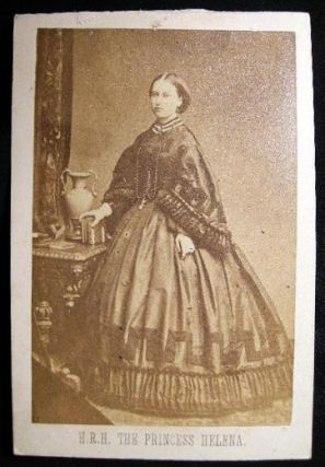 Carte-de-Visite Photograph of Princess Helena (Helena Augusta Victoria; Princess Christian of...
