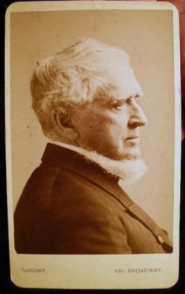 Carte-de-Visite Photograph Portrait of John Adams Dix, Civil War General & New York Governor By...