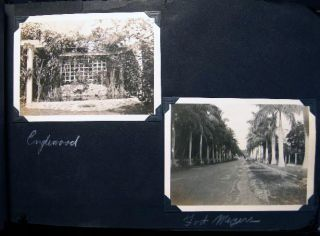 Circa 1935 - 1940 Album of Photographs: Florida & New Jersey Locations, Horses & Equestrian, Family