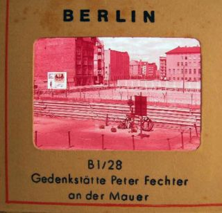 Circa 1958 Group of Color Slides of East Berlin Germany By Hans Hartz Hamburg. Photography - 20th...