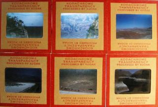 Circa 1958 Group of Kodachrome Color Slides of American Parklands Including Grand Canyon Yosemite...