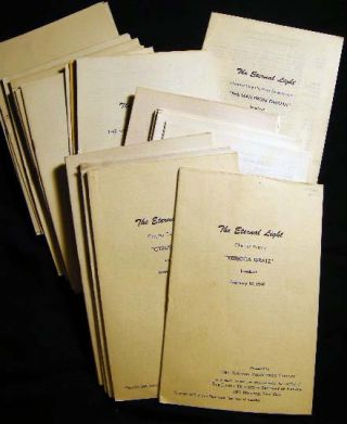1945 - 1948 Collection of Radio Script Broadcasts for the National Broadcasting Company Program...