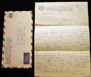 1975 Letter Signed on International Atomic Energy Agency Letterhead Vienna Austria by American...