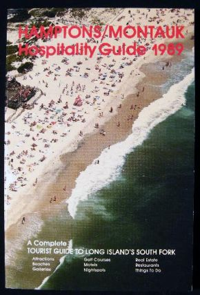 Hamptons - Montauk Hospitality Guide 1989. Americana - 20th Century - New York - Long Island -...