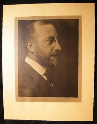 1925 Photograph Portrait Signed By Mount Vernon, Westchester New York Artist Carroll M. Guest....
