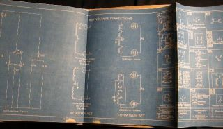 "Collection of Blueprints for Protocols and Methods of Operation for the Williamsburgh Power Plant, IRT Subway Station Power Plants, Titled ""Instructions High Pot. Testing of Cables HPC -23"""
