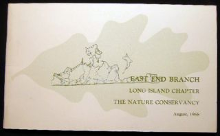 The Natural Area Preserves of the East End Branch of the Long Island Chapter The Nature...
