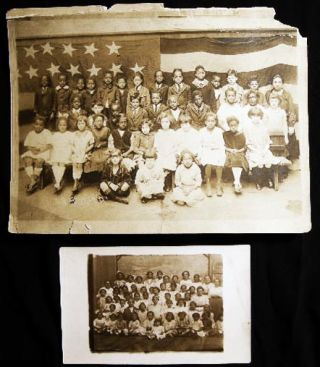 Circa 1915 - 1941 Group of Photographs & Ephemera from a Jewish Woman Public School Teacher in...