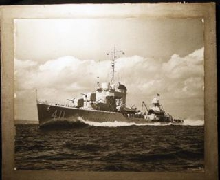 1939 Large Format Photograph of U.S. Navy Destroyer USS Anderson DD-411. Photography - 20th...