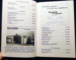 Greater Patchogue Chamber of Commerce Business Directory - 1985