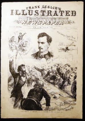 Frank Leslie's Illustrated Newspaper No. 976 Vol. XXXVIII New York, June 13, 1874 Cover...
