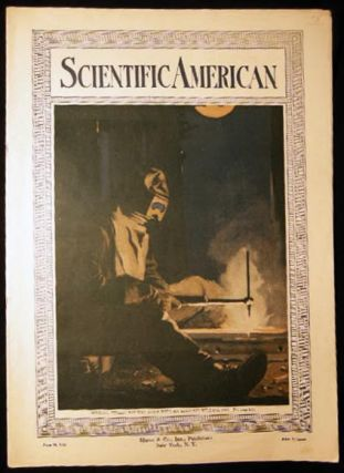 Scientific American June 10, 1916 Vol. CXIV Number 24 Color Cover Bonding Street Railway Rails...