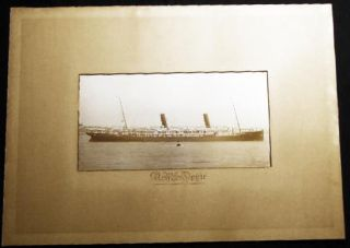 Circa 1895 Photograph of the Royal Mail Ship Ophir of the Orient Steam Navigation Company of...