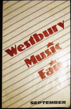 1986 Westbury Music Fair Guber/Gross/Young Productions Presents Anthony Newley in Stop the World...