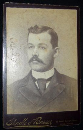 Circa 1880 Group of 6 Photo Portrait Cabinet Cards: York, Pennsylvania By Butteroff & Shadle & Busser