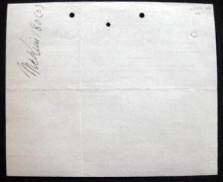 1900 Manuscript & Printed Receipt from C. & G. Parks Mason Contractors, Plastering, Inwood, New...