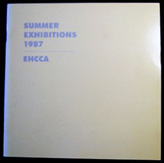 Summer Exhibitions 1986 EHCCA East Hampton Center for Contemporary Art. Americana - 20th Century...