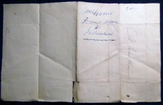 1810 Manuscript Letter to James Thomson, Grocer in New York City from William Gann Issuing Power of Attorney in Case of Accident or Loss While on a Trip to Havana in the Brig Galen