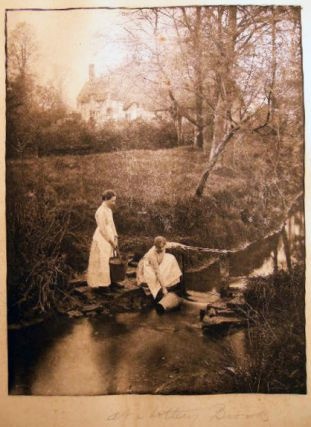 At Shottery Brook Photogravure Plate By James Leon Williams from The Home and Haunts of...