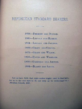 Constitution of the Republican Club, of Jamaica, N.Y. Organized January, 1886