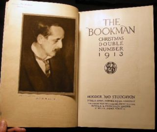 The Bookman Christmas Double Number December 1913 No. 267 Vol. XLV
