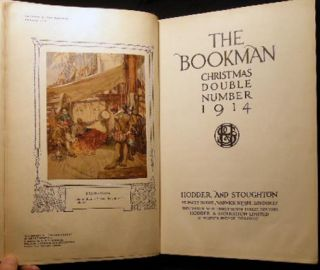 The Bookman Christmas Double Number December 1914 No. 279 Vol. XLV II