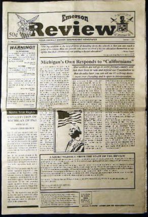 Emerson Review Vol. 2 Issue 41 October 11, 2001 Your Locally Owned Independent Newspaper....