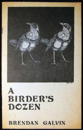 A Birder's Dozen (with) a Typed Postcard Signed from the Author & Related Ephemera