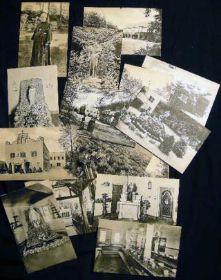 Circa 1940 Collection of Postcards of the Society of Atonement at Graymoor, Garrison New York....