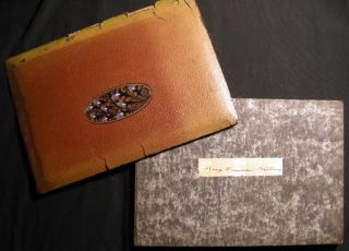 Circa 1920 Photograph Album St. Mary's School for Girls Mt. St. Gabriel Peekskill New York....