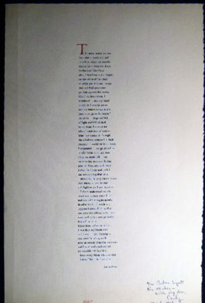 The Same Words are Not the Same Poetry Broadside Signed and Inscribed By Andrea Wyatt. Americana...